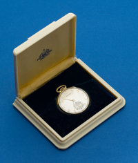 Hamilton 14k Gold Grade 921, 21 Jewels With Original Box