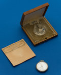 Timepieces:Pocket (post 1900), Lord Elgin 19 Jewel, 12 Size 14k Gold With Original Box. ...