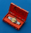 Timepieces:Wristwatch, Ingersoll Early Mickey Mouse Watch With Original Box. ...