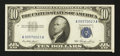 Error Notes:Attached Tabs, Fr. 1706 $10 1953 Silver Certificate. Very Choice CrispUncirculated.. ...