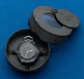Timepieces:Pocket (post 1900), Hamilton 4992B With Military Carrying Case. ...