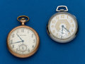Timepieces:Pocket (post 1900), Two - Waltham, 12 Size. ... (Total: 2 Items)
