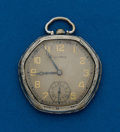 Timepieces:Pocket (post 1900), Illinois, 19 Jewel, Abe Lincoln, Model 165 Case. ...