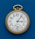 Timepieces:Pocket (post 1900), Elgin, 16 Size, Montgomery Dial. ...