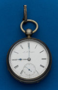 Timepieces:Pocket (post 1900), Bourguin, 55 mm, Coin, Key Wind. ...