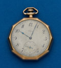 Timepieces:Pocket (post 1900), Elgin, 12 Size Pocket Watch. ...