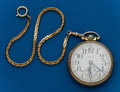 Timepieces:Pocket (post 1900), Elgin, 21 Jewel, Father Time. ...