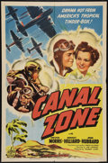"Movie Posters:Drama, Canal Zone (Columbia, 1942). One Sheet (27"" X 41""). Drama.. ..."