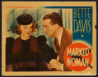 "Marked Woman (Warner Brothers, 1937). Lobby Card (11"" X 14""). Crime"