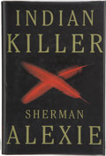 Books:Signed Editions, Sherman Alexie. Indian Killer. New York: Atlantic Monthly Press, [1996]. First edition, first printing. Signed by ...
