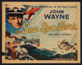 """Movie Posters:Action, The Sea Spoilers (Universal, 1936). Title Lobby Card (11"""" X 14"""").Action.. ..."""