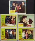 """Movie Posters:Swashbuckler, The Mark of Zorro Lot (20th Century Fox, R-1958). Lobby Cards (5) (11"""" X 14""""). Swashbuckler.. ... (Total: 5 Items)"""
