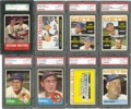 Baseball Cards:Lots, 1963 & 1964 Topps New York Mets Graded NM-MT Collection (17)....