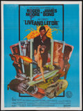 "Movie Posters:James Bond, Live and Let Die (United Artists, 1973). Indian One Sheet (30"" X 40""). James Bond.. ..."