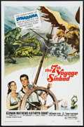 "Movie Posters:Fantasy, The 7th Voyage of Sinbad (Columbia, R-1975). One Sheet (27"" X 41""). Style B. Fantasy.. ..."