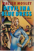Books:Signed Editions, Walter Mosley. Devil in a Blue Dress. New York London: W. W. Norton & Company, [1990]. First edition. Signed by th...
