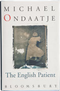 Books:Signed Editions, Michael Ondaatje. The English Patient. [London]: Bloomsbury,[1992]. First edition. Signed by the author on the ti...