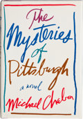 Books:Signed Editions, Michael Chabon. The Mysteries of Pittsburgh. New York: William Morrow and Company, Inc., [1988]. First edition. Si...