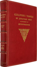 Books:Signed Editions, [Arthur Rackham, illustrator]. Jonathan Swift. Gulliver'sTravels into Several Remote Nations of the World.Illu...