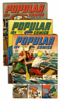Golden Age (1938-1955):Miscellaneous, Popular Comics Group (Dell, 1944-48).... (Total: 12 Comic Books)