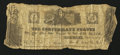 Confederate Notes:Group Lots, Confederate Fantasy Note $5 April 1, 1862.. ...