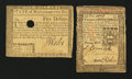Colonial Notes:Mixed Colonies, Massachusetts $5 May 5, 1780 Fine, HOC.. Pennsylvania 20s October1, 1773 Very Good.. ... (Total: 2 notes)