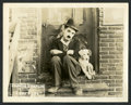 "Movie Posters:Comedy, A Dog's Life (First National, 1918). Lobby Card (8"" X 10"").Comedy.. ..."