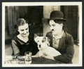 """Movie Posters:Comedy, A Dog's Life (First National, 1918). Lobby Card (8"""" X 10"""").Comedy.. ..."""