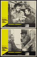 "Movie Posters:Academy Award Winners, Midnight Cowboy (United Artists, 1969). Lobby Cards (2) (11"" X 14"")X-Rated Version. Academy Award Winners.. ... (Total: 2 Items)"