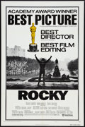 "Movie Posters:Academy Award Winners, Rocky (United Artists, 1977). One Sheet (27"" X 41"") Academy AwardsStyle B. Sports.. ..."
