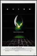 "Movie Posters:Science Fiction, Alien (20th Century Fox, 1979). One Sheet (27"" X 41""). Science Fiction.. ..."