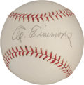 Autographs:Baseballs, Circa 1950 Al Simmons Single Signed Baseball....