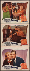 "Movie Posters:Comedy, Topper (Film Classics, R-1944). Lobby Cards (3) (11"" X 14""). Comedy.. ... (Total: 3 Items)"