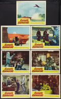 """Movie Posters:Science Fiction, Satan's Satellites (Republic, 1958). Lobby Cards (7) (11"""" X 14"""").Science Fiction.. ... (Total: 7 Items)"""