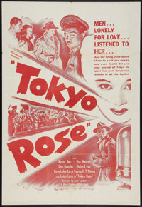 """Tokyo Rose Lot (Paramount, R-1950s). One Sheet (27"""" X 41""""), Photo (8"""" X 10""""), and Lobby Card (11&quo..."""