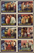 "Movie Posters:Bad Girl, The Cool and the Crazy (American International, 1958). Lobby Card Set of 8 (11"" X 14""). Bad Girl.. ... (Total: 8 Items)"