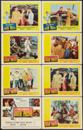 """Movie Posters:Musical, South Pacific (20th Century Fox, 1959). Title Lobby Card (11"""" X 14"""") and Lobby Cards (7). Musical.. ... (Total: 8 Items)"""