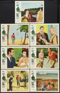 "Movie Posters:James Bond, Dr. No (United Artists, 1962). Lobby Cards (7) (11"" X 14""). JamesBond.. ... (Total: 7 Items)"