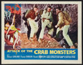 "Movie Posters:Science Fiction, Attack of the Crab Monsters (Allied Artists, 1957). Lobby Card (11""X 14""). Science Fiction.. ..."