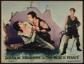 "Movie Posters:Swashbuckler, The Black Pirate (United Artists, 1926). Lobby Card (10"" X 13""). Swashbuckler.. ..."