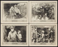"Movie Posters:Drama, Bare Knuckles (Fox, 1921). Lobby Cards (4) (11"" X 14""). Drama.. ... (Total: 4 Items)"