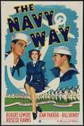 """Movie Posters:War, The Navy Way (Paramount, 1944). One Sheet (27"""" X 41"""") Style A.War.. ..."""