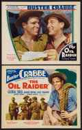 "Movie Posters:Action, The Oil Raider (Mayfair Pictures, 1934). Title Lobby Card &Lobby Card (11"" X 14""). Action.. ... (Total: 2 Items)"