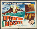 "Movie Posters:War, Operation Disaster (Universal International, 1951). Half Sheet (22""X 28"") Style B. War.. ..."