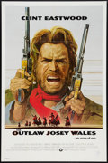 "Movie Posters:Western, The Outlaw Josey Wales (Warner Brothers, 1976). One Sheet (27"" X 41""). Western.. ..."