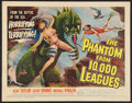 """Movie Posters:Science Fiction, The Phantom From 10,000 Leagues (American Releasing Corp., 1955).Half Sheet (22"""" X 28""""). Science Fiction.. ..."""