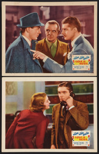 """Love is News (20th Century Fox, 1937). Lobby Cards (2) (11"""" X 14""""). Comedy. ... (Total: 2 Items)"""