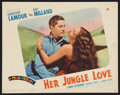 "Movie Posters:Adventure, Her Jungle Love (Paramount, 1938). Lobby Card (11"" X 14"").Adventure.. ..."