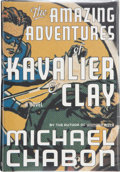 Books:Literature 1900-up, Michael Chabon. SIGNED. The Amazing Adventures of Kavalier &Clay. New York: Random House, 2000. First edition, ...