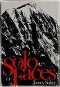 Books:Signed Editions, James Salter. Solo Faces. Boston Toronto: Little, Brown and Company, 1979. First edition. Signed by the author...